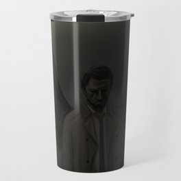 Castiel, Falling From Light Travel Mug