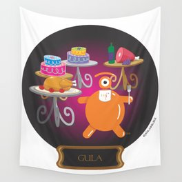 gluttony Wall Tapestry