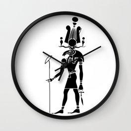 Khensu - God of ancient Egypt Wall Clock