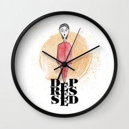 Depressed Wall Clock