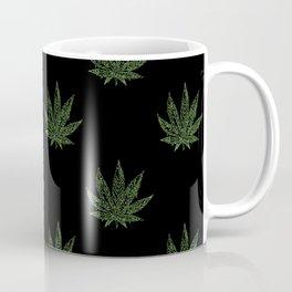 Sweet Leaf Blacklight Green Coffee Mug