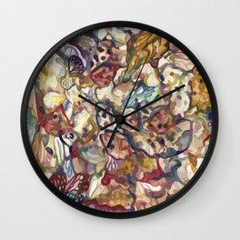 Butterflies II Glump Wall Clock
