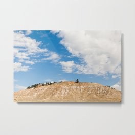"""Midwest Mountain"" - Cross Country Road Trip Metal Print"