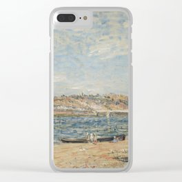 Alfred Sisley 1839 - 1899 THE WATERFRONT IN ST mammes Clear iPhone Case