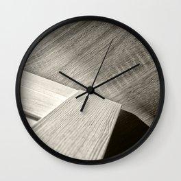 Shadow Light Door Abstract Two Wall Clock