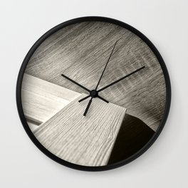 Shadow Light Door Abstract Two Wall Clock