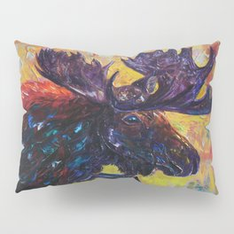 Moose by OLena Art Pillow Sham