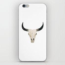 Desert Cow Skull iPhone Skin