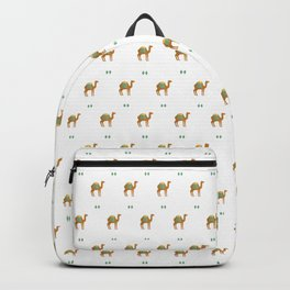 Camels all around Backpack