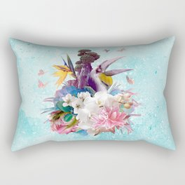 FLORAL HORNBILL / RIO Rectangular Pillow