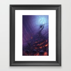 The Sorcerer Framed Art Print