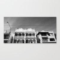 melbourne Canvas Prints featuring Melbourne by Hannah