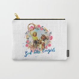 God bless cowgirls Carry-All Pouch