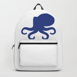 Big Octopus Silhouette Backpack