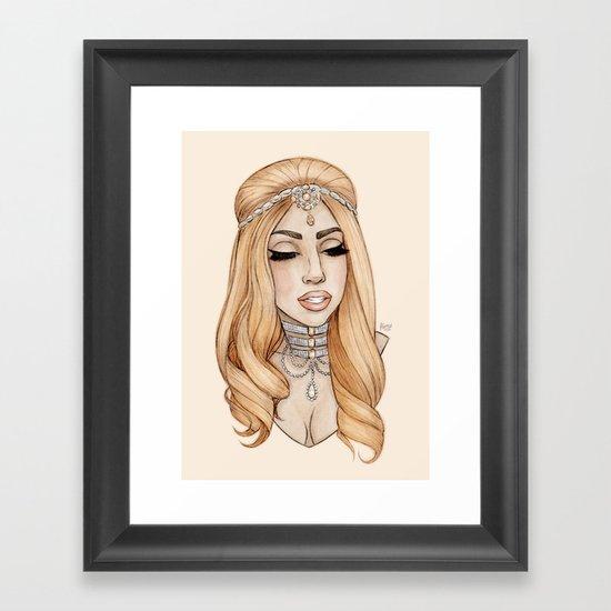 ARTPOP Princess IV Framed Art Print