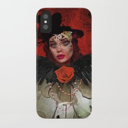 Just a Lady iPhone Case