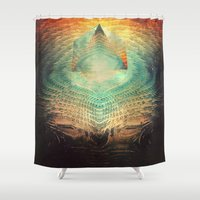 lovecraft Shower Curtains featuring kryypynng dyyth by Spires