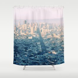 San-Francisco city Shower Curtain