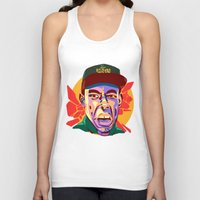 tyler spangler Tank Tops featuring TYLER  by Brainjuice