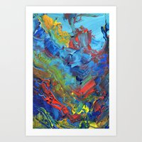 The Reef that Thrived on the Blood of Sailors Art Print
