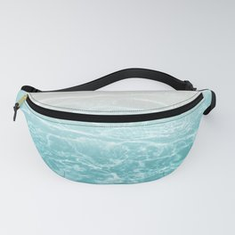 Soft Blue Gray Ocean Dream #1 #water #decor #art #society6 Fanny Pack