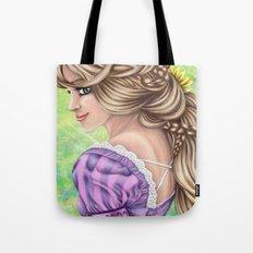 Rapunzel Portrait Tote Bag