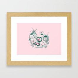 Self Care Framed Art Print