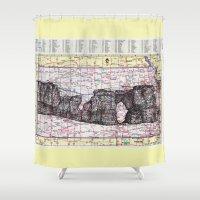 kansas Shower Curtains featuring Kansas by Ursula Rodgers
