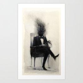 Portrait of a Dead Man Art Print