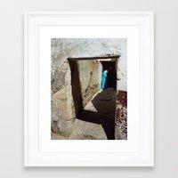casablanca Framed Art Prints featuring Casablanca by Kaos and Kookies