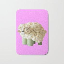 Pink sheep Bath Mat