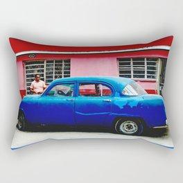 Havana Blue Rectangular Pillow