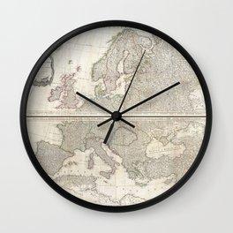 Europe 1794 Wall Clock