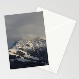 Winter in the Mountains Stationery Cards
