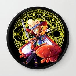 Prince Sakura Wall Clock