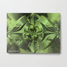 Cool Green of Summer Metal Print