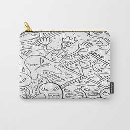 Mirror Images Of Self Reflections Carry-All Pouch