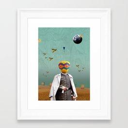 Ego Framed Art Print