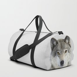 Wolf 2 - Colorful Duffle Bag