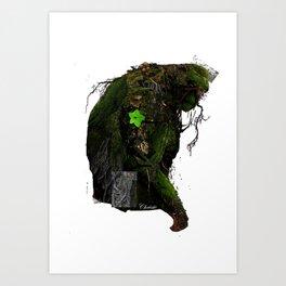 Swamp Thing - Work in Progress (2013) Art Print