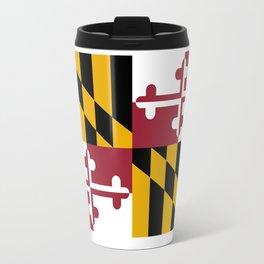 Flag of Maryland, High Quality image Travel Mug