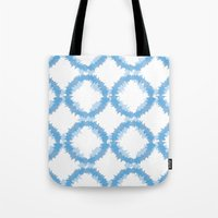 ikat Tote Bags featuring ikat by Kozza