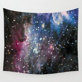 galaxy pixel Wall Tapestry