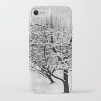 blankets iPhone & iPod Cases featuring Blankets of Snow by Bella Blue Photography