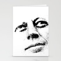 jfk Stationery Cards featuring JFK by Mullin