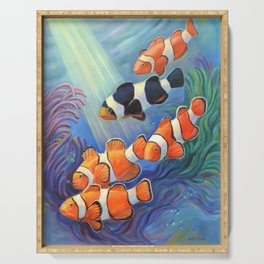 Clownfish Paradise Serving Tray