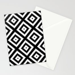 Tribal B&W Stationery Cards