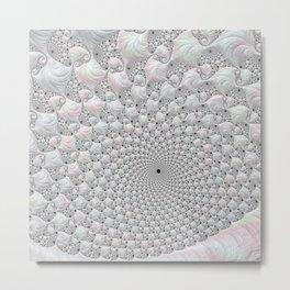marble shell Metal Print
