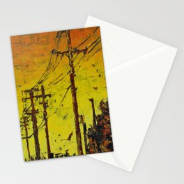 Maple Sunset Stationery Cards