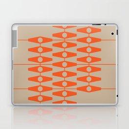 abstract eyes pattern orange tan Laptop & iPad Skin